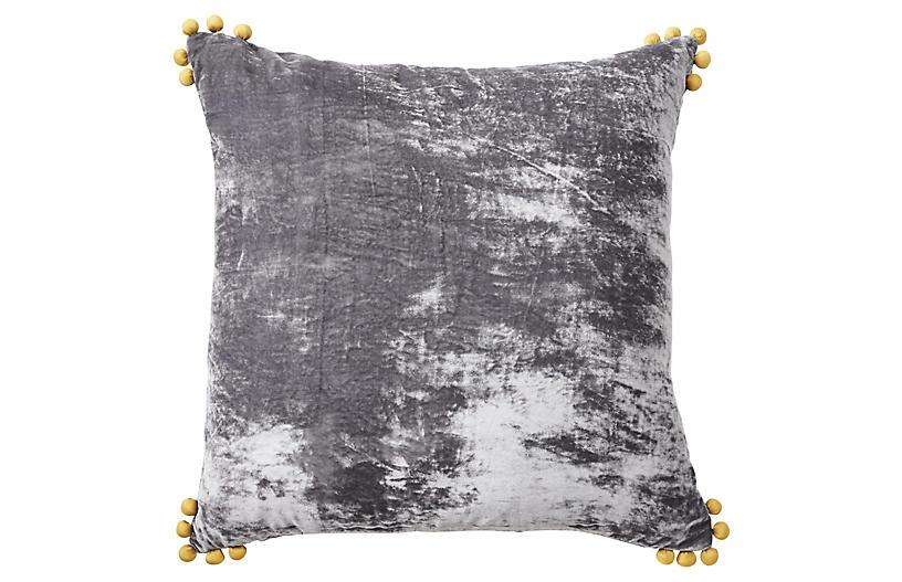 Omni 24x24 Pillow, Gray