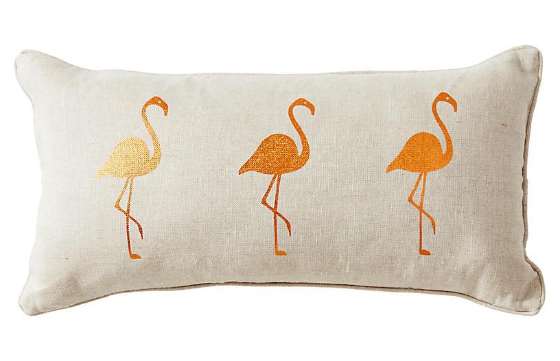 Andalucia 14x22 Linen Pillow, Beige