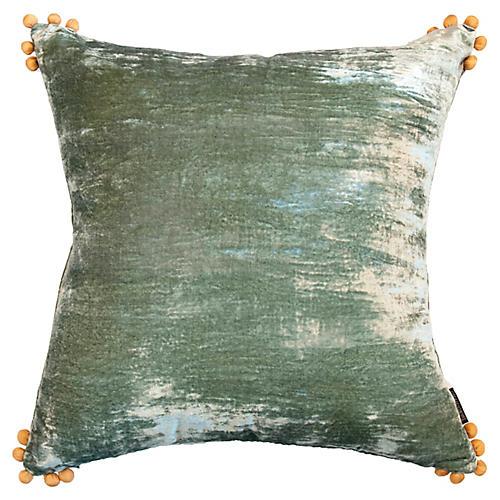 Omni 24x24 Pillow, Seafoam