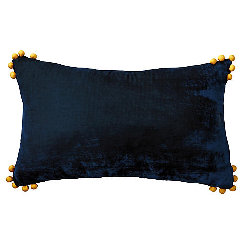 Omni 14x22 Lumbar Pillow, Blue