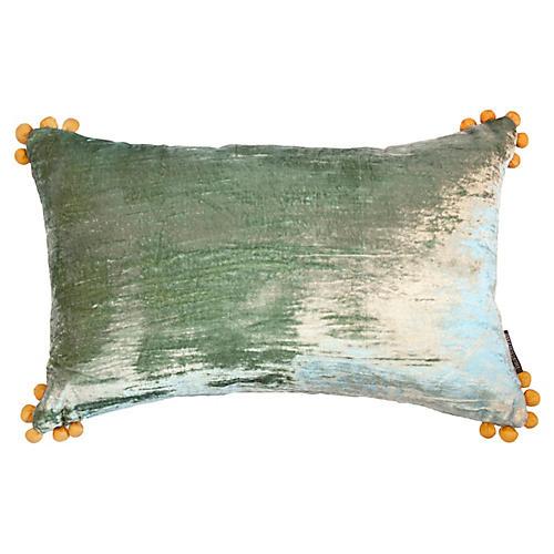 Omni 14x22 Lumbar Pillow, Seafoam