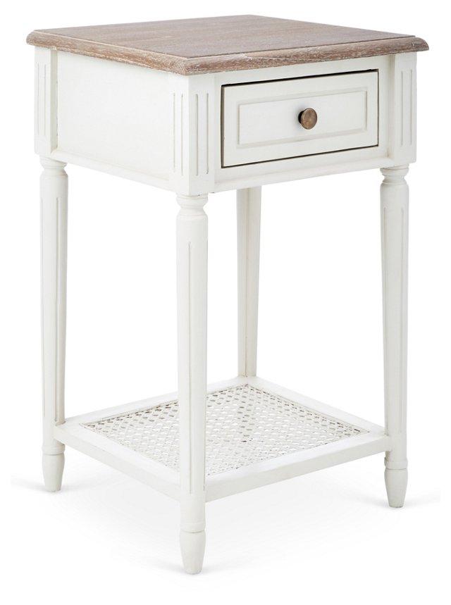 Alcott Nightstand, White