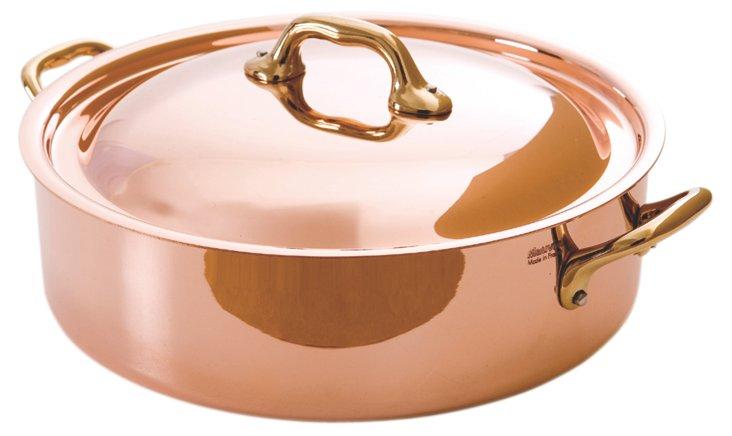"""8"""" Copper Rondeau Pan w/ Lid"""