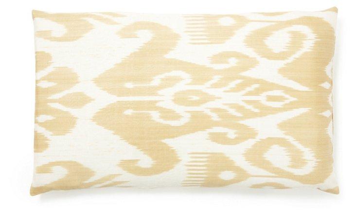 Serene 14x24 Silk Pillow, Cream