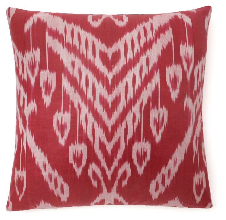Ripe 20x20 Silk Pillow, Berry