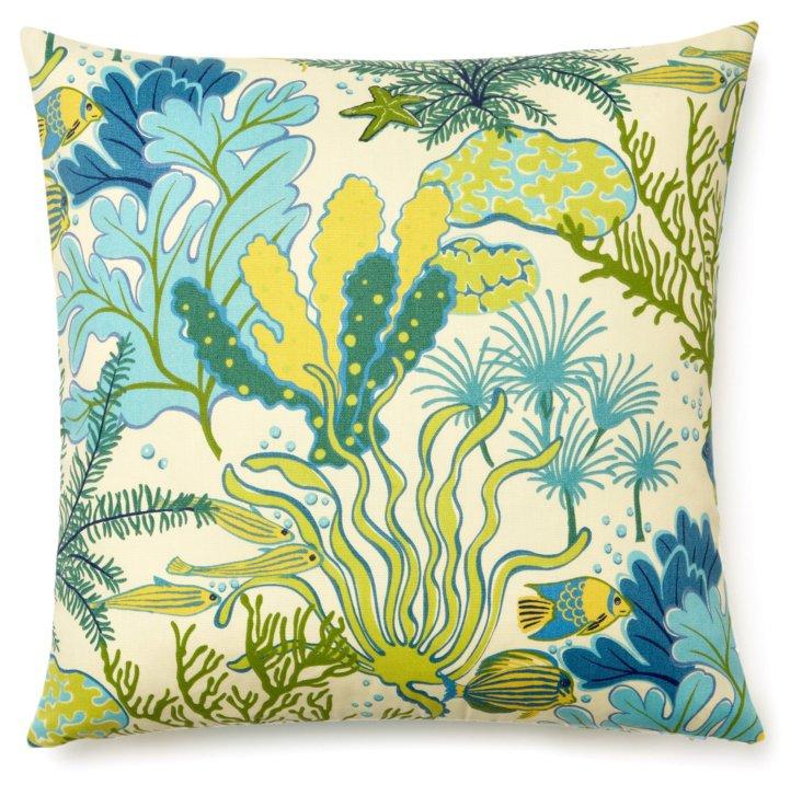 Sea Life 20x20 Outdoor Pillow, Multi