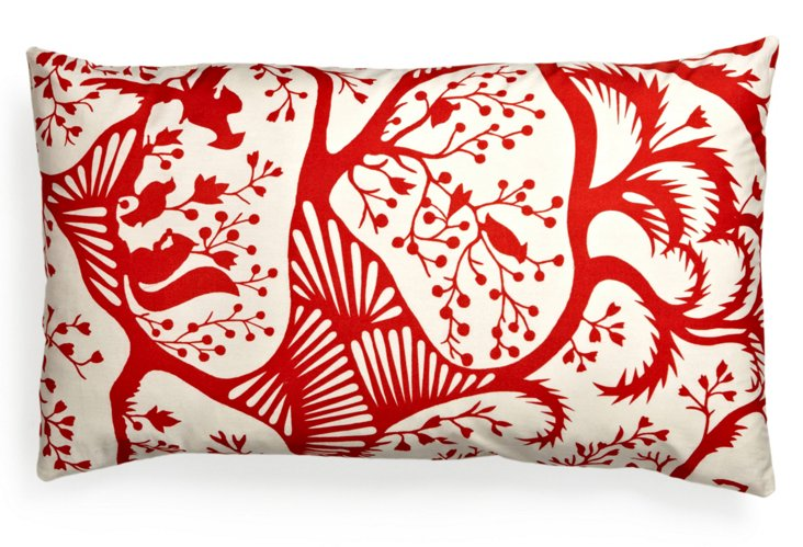 Holiday 14x24 Pillow, Red