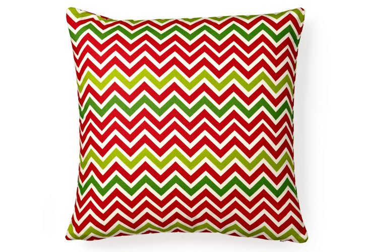 Holiday 18x18 Pillow, Red