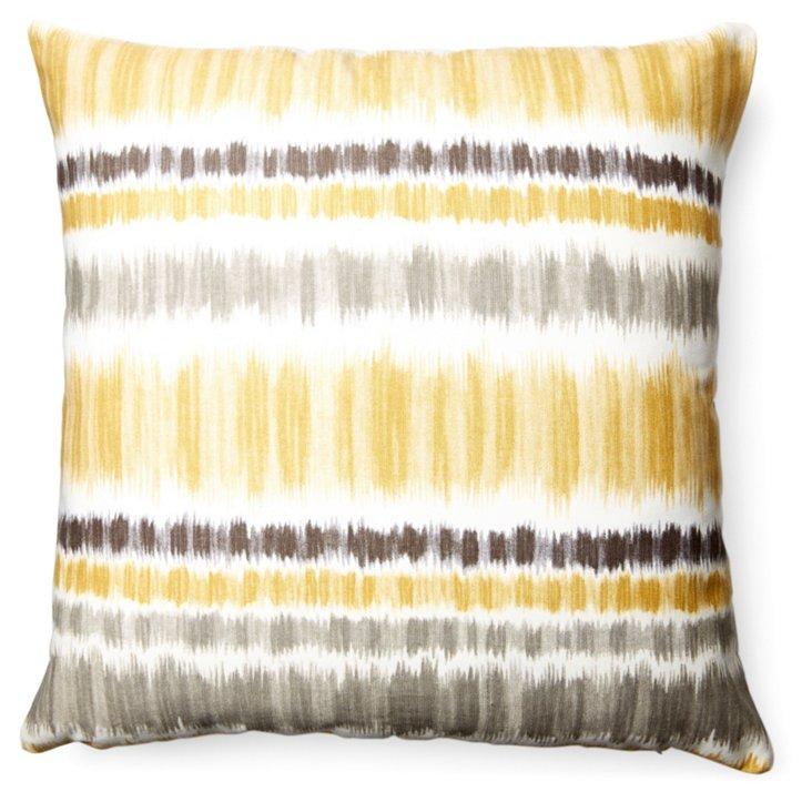 Karma 18x18 Cotton Pillow, Multi