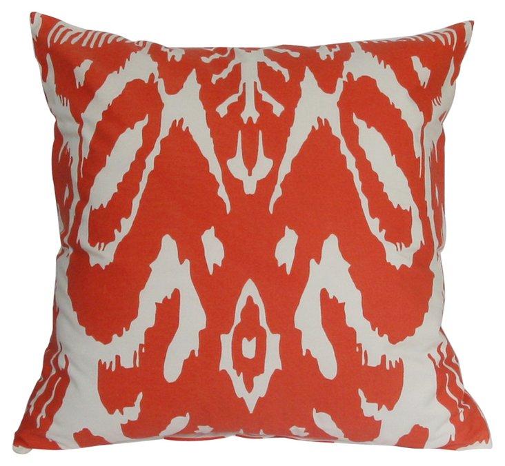 Tropical 18x18 Outdoor Pillow, Orange