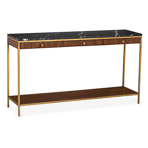 Copeland Narrow Console, Black