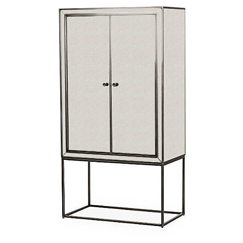Fleet Bar Cabinet, White