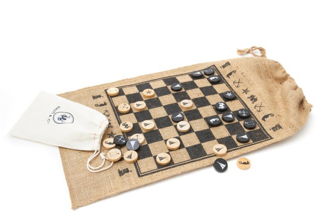 Chess & Checkers Roll Up Set