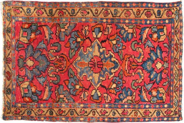 Antique Persian Lilihan, 3' x 2'