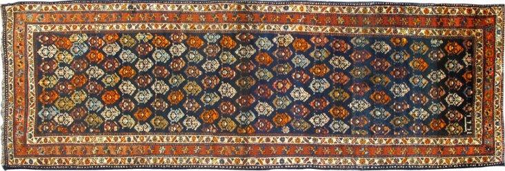 """Antique Northwest Persian, 9'6"""" x 3'3"""""""