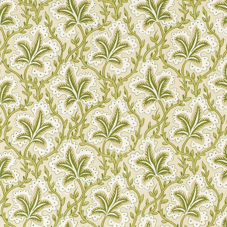 Opio Cotton Fabric, Linden