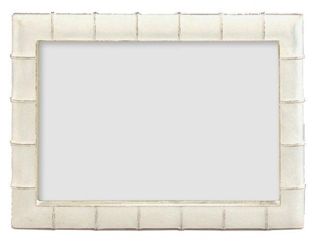 Marlene Frame, 3x5, White