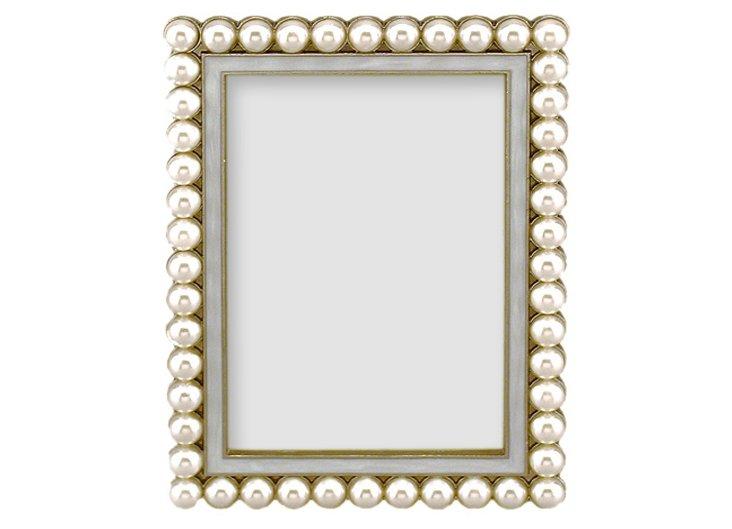 South Sea Frame, 5x7, White
