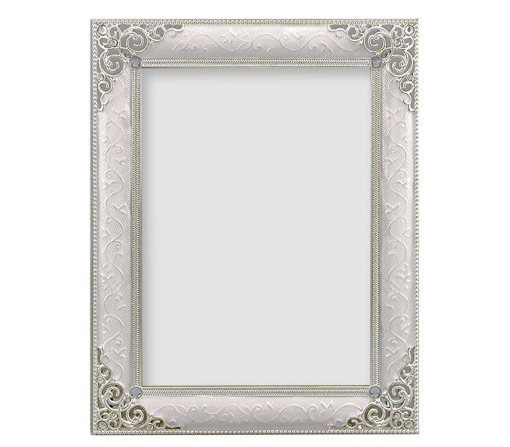 Versailles Frame, 5x7, White