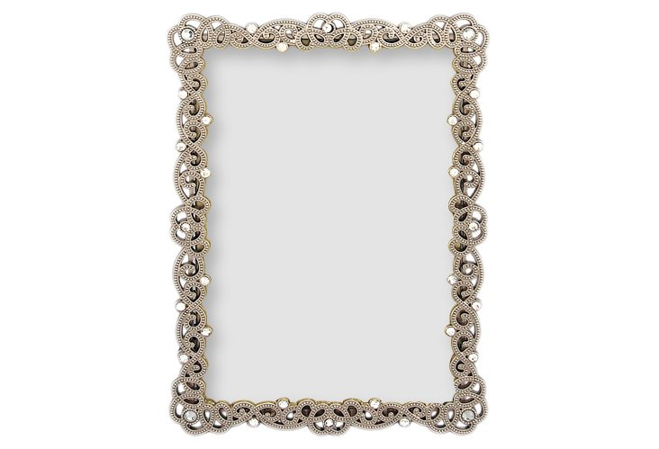 Couture Frame, 4x6, Pewter