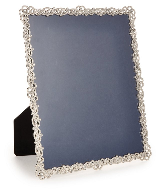 Couture Frame, 8x10, Pewter