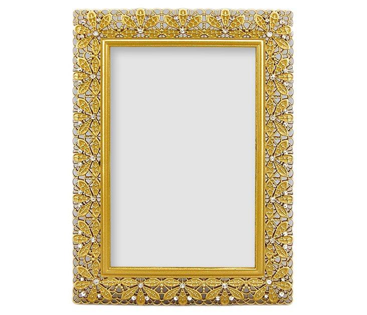 Floradora Frame, 5x7, Gold