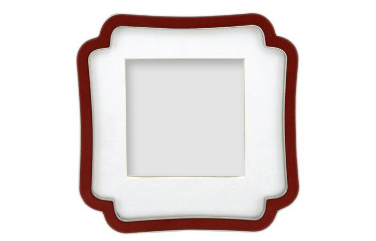 Octagon Frame, 3x3, Red