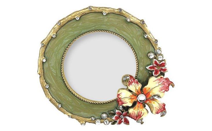 Corsage Frame, 3x3, Green
