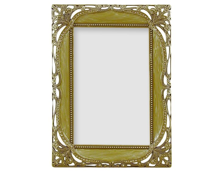 Baroque Frame, 5x7, Taupe