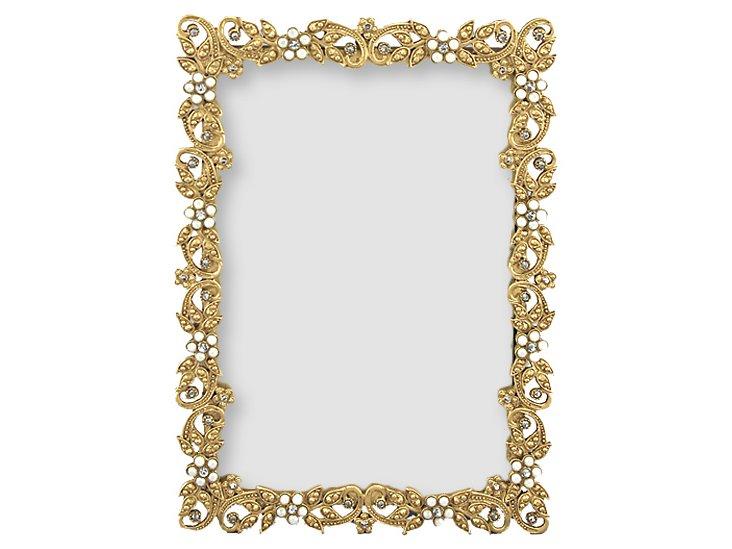 Flaxen Frame, Gold, 4x6