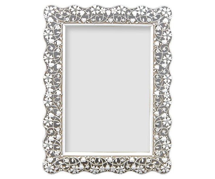 Delicacy Frame, White, 4x6