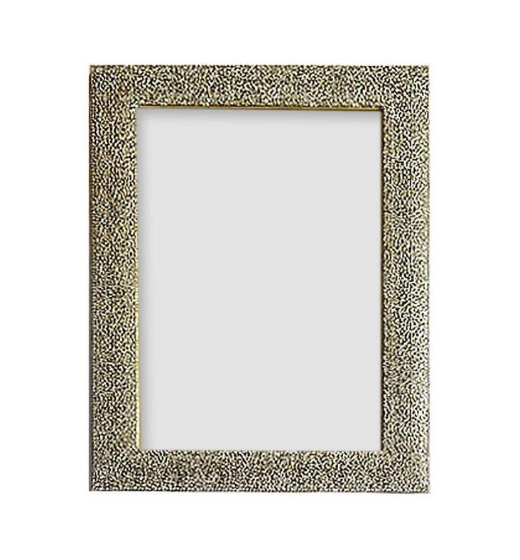 More Sparkle Frame, 4x6, Silver
