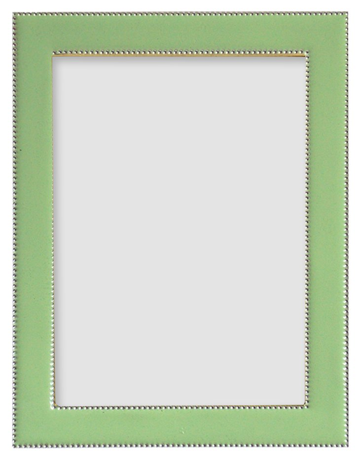 Beaded Frame, 5x7, Pale Green