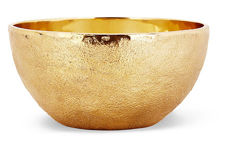 Large Sphere Bowl, Gold