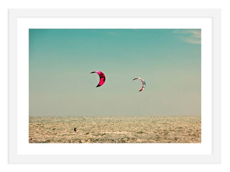 Judith Gigliotti, Kite Surfing