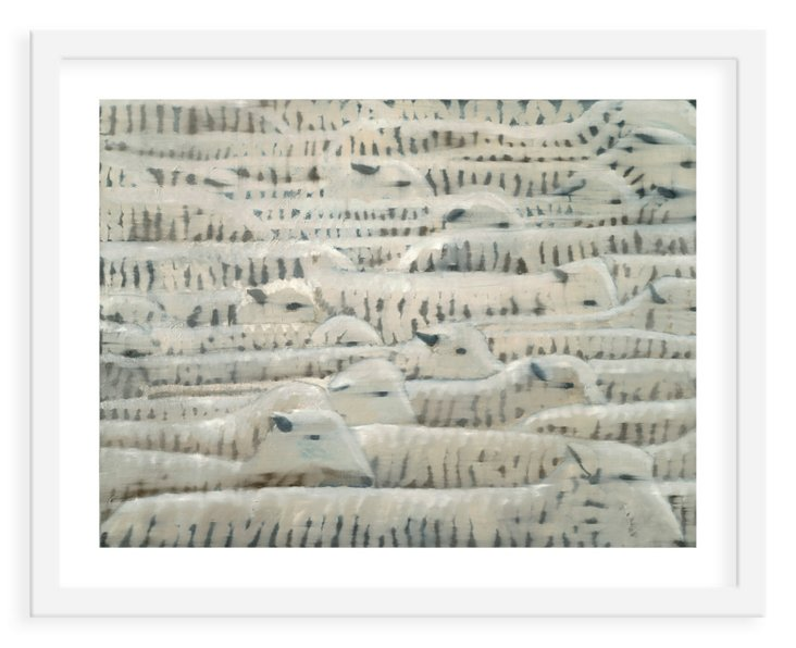 Meagan Donegan, Herd of Sheep