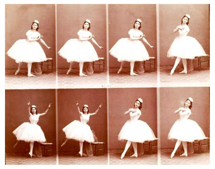 Ballerina Sequence Framed