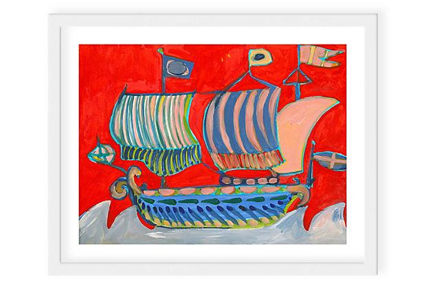 Lulu DK, Voyage II Framed Print