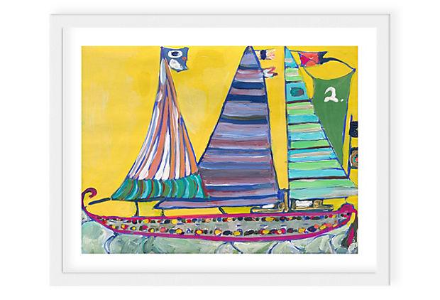 Lulu DK, Voyage IV Framed Print
