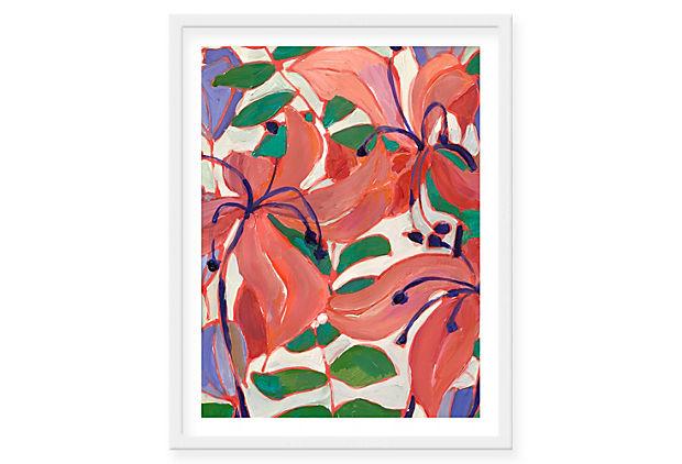 Lulu DK, Caitlin Framed Print