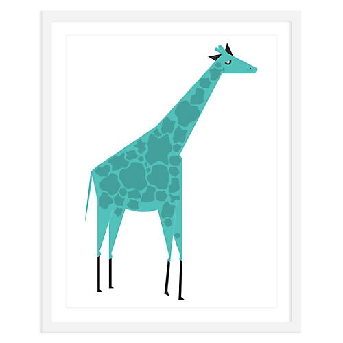 ModernPOP, Giraffe Blue , Mini