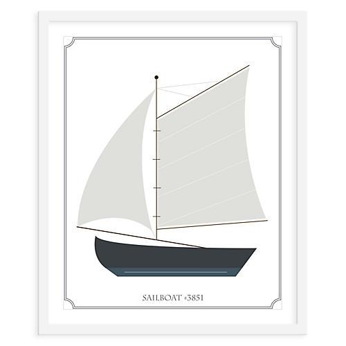Sailboat Sails, Mini, ModernPOP