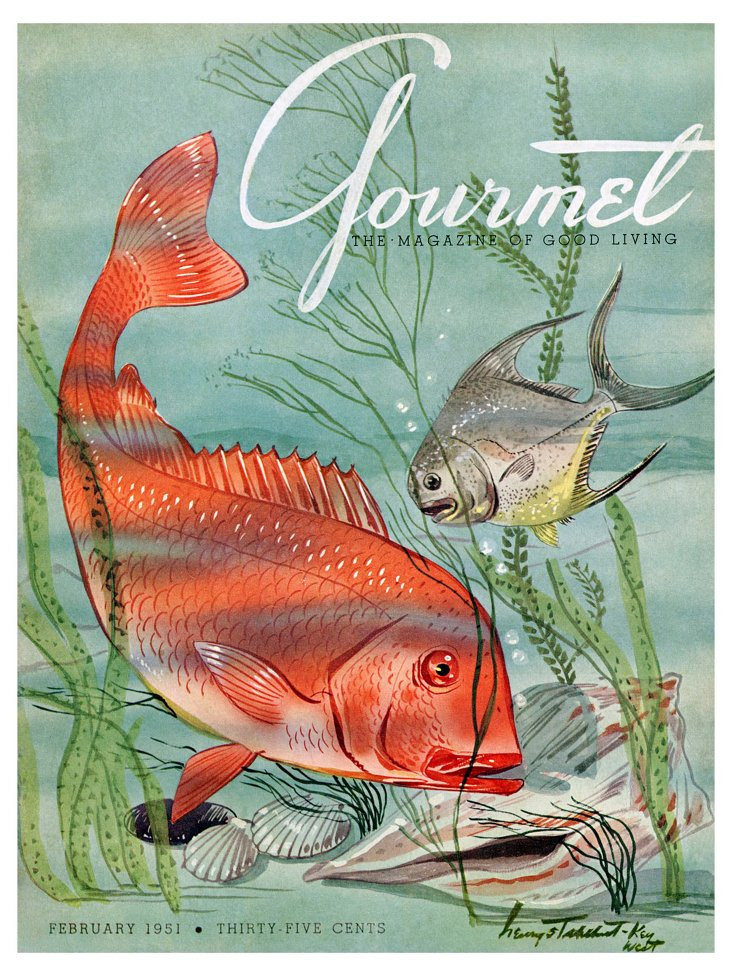 Gourmet, February 1951-DNU