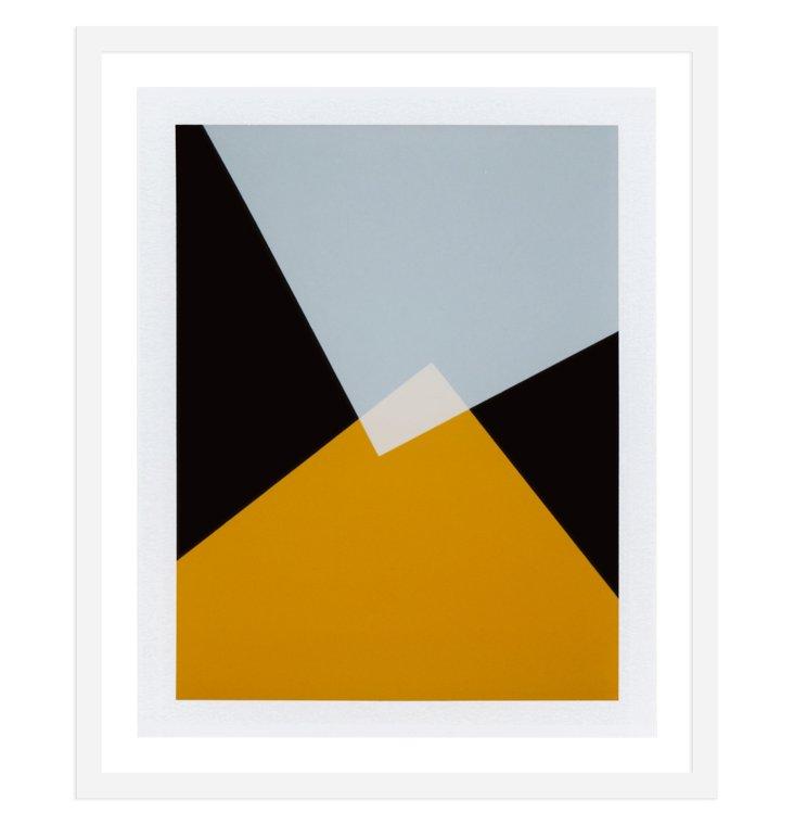 Joan Cuenco,  Blue Yellow Intersect II