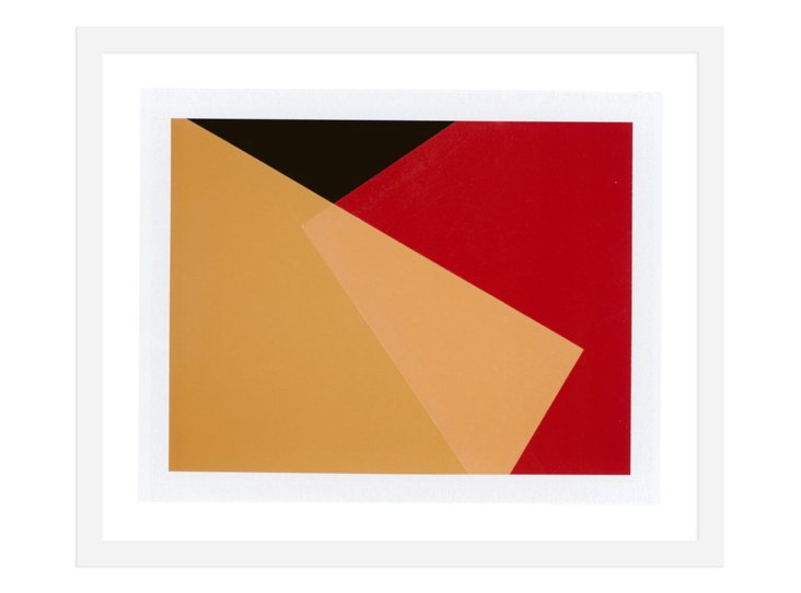 Joan Cuenco,  Yellow Red Intersect