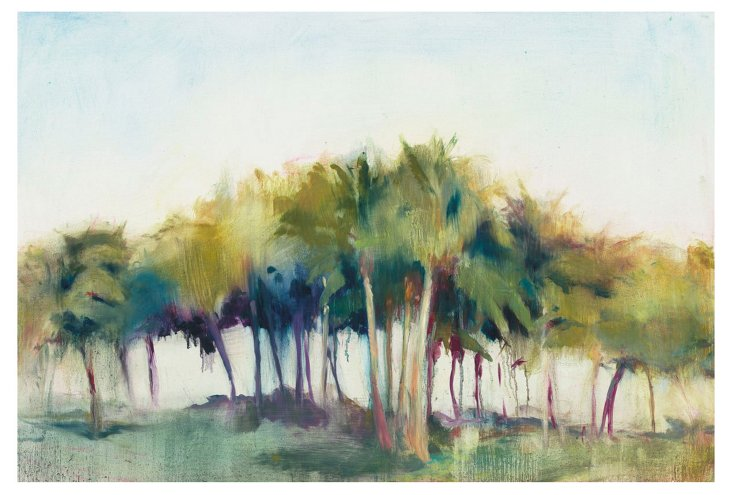 "Allyson Krowitz, Coconut Grove 46"" x 30"""