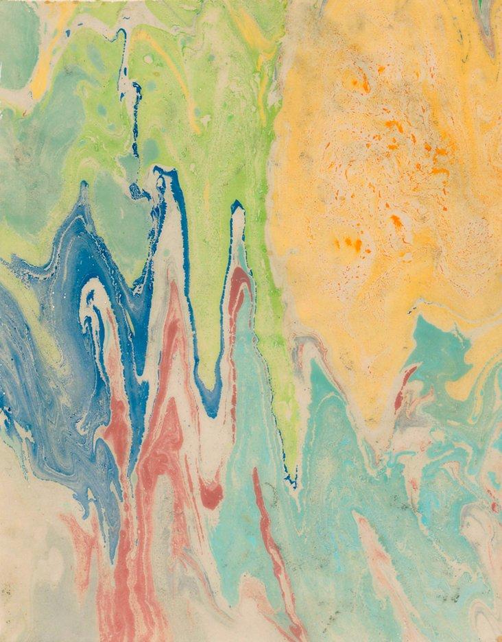 Leslie Saris, Blue Series I