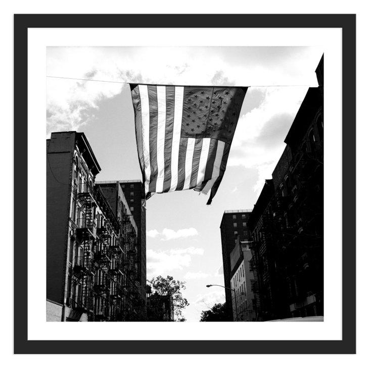 Graham Kuhn, East Village Flag