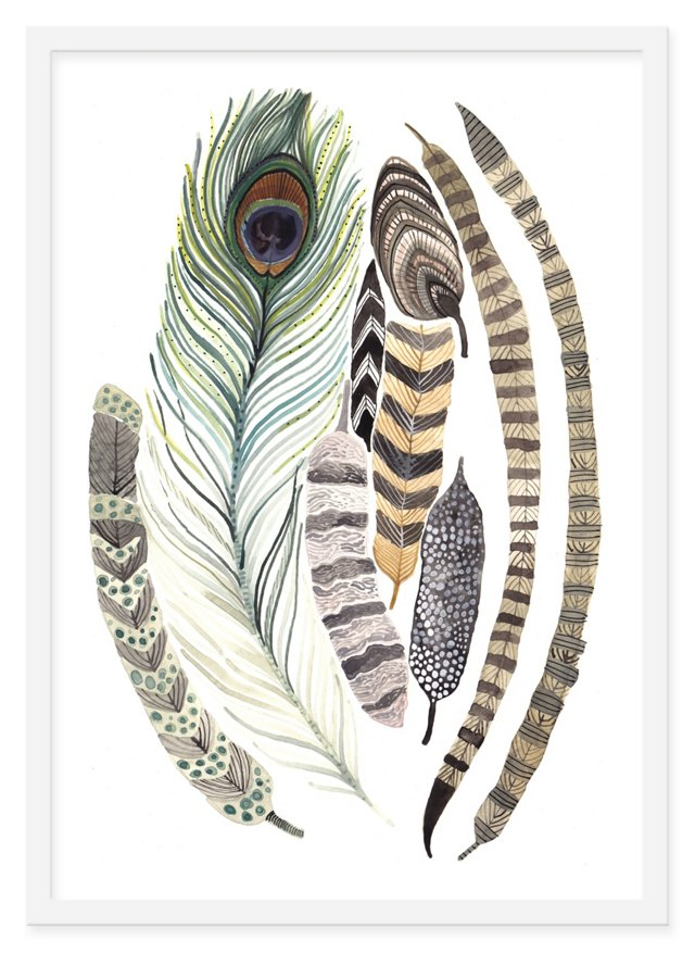 Michelle Morin, Feathers
