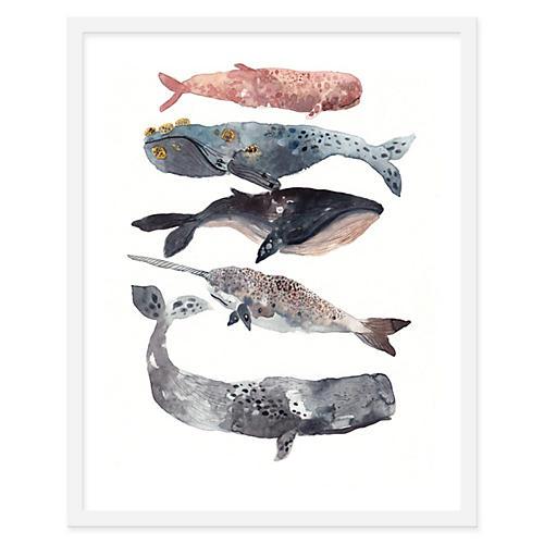 Michelle Morin, Five Whales